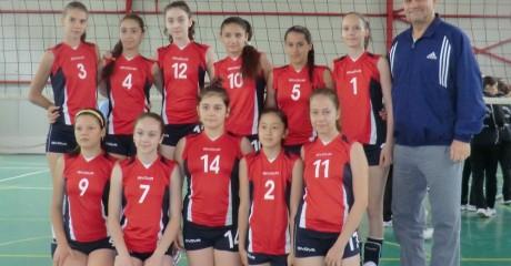 Echipa de minivolei feminin