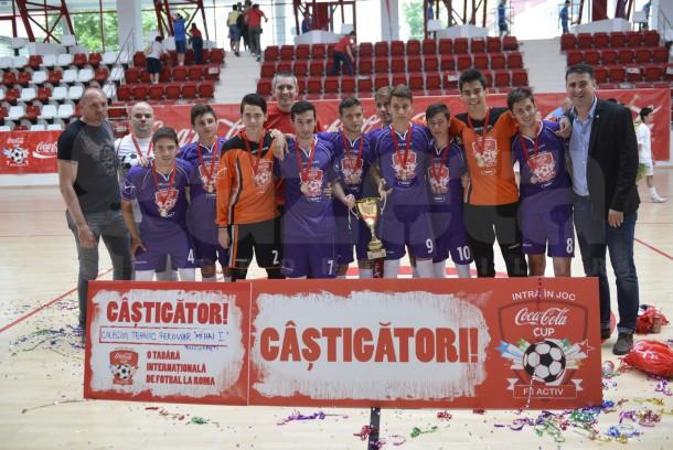 Echipa fotbal CTF cupa COCA-COLA