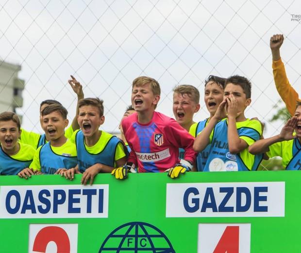 "CTF ""Mihai I"" a castigat cupa Hagi Danone – faza Bucuresti"