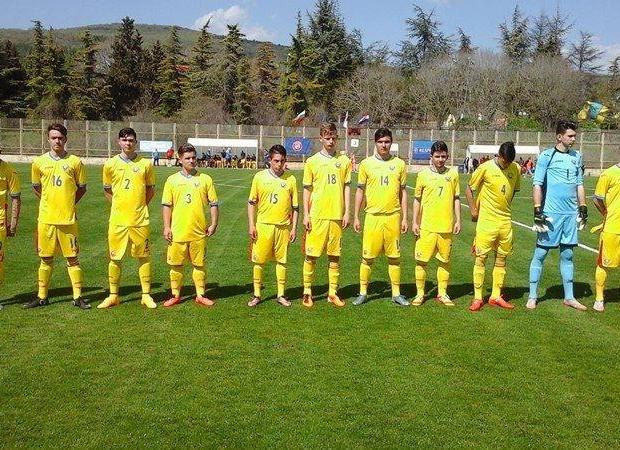Selectia elevului Iofcea la echipa nationala de fotbal