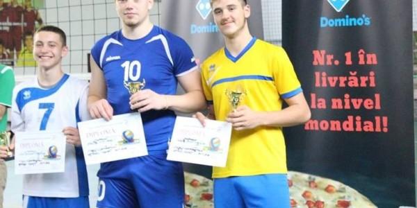 CTF Mihai I campioană naţională la volei masculin cadeti 1