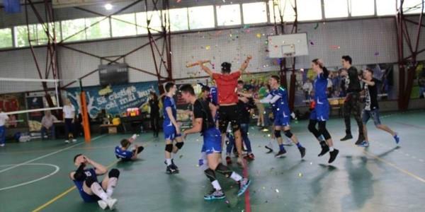 CTF Mihai I campioană naţională la volei masculin cadeti 2