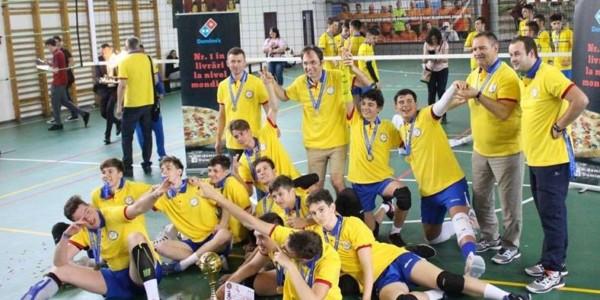 CTF Mihai I campioană naţională la volei masculin cadeti 3