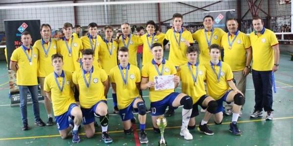 CTF Mihai I campioană naţională la volei masculin cadeti 4