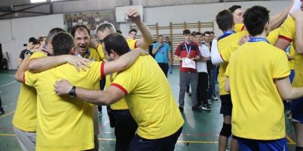CTF Mihai I campioană naţională la volei masculin cadeti 5
