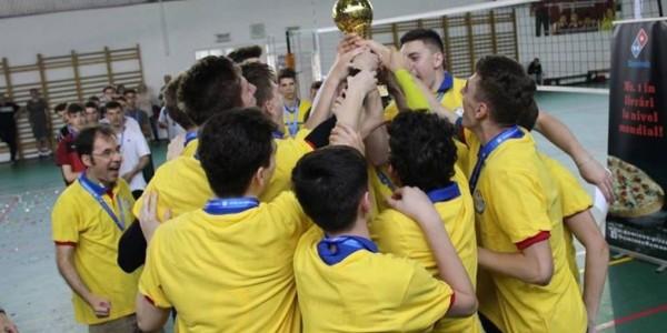 CTF Mihai I campioană naţională la volei masculin cadeti 6