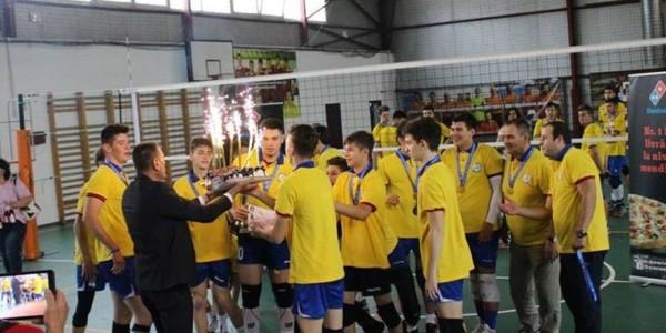 CTF Mihai I campioană naţională la volei masculin cadeti 7