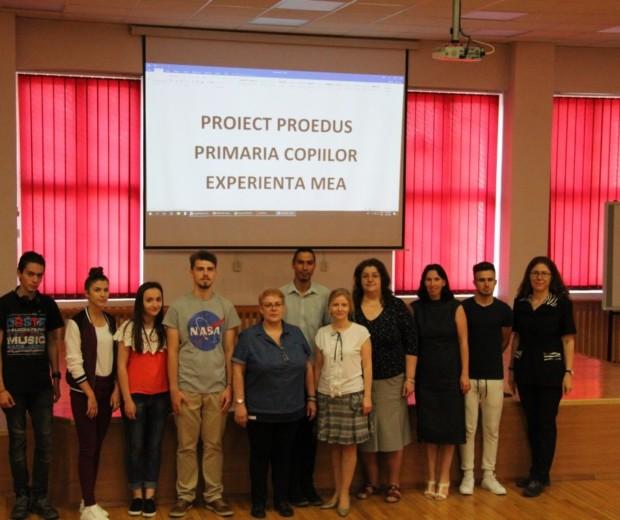 """C.T.F. Mihai I participant in proiectul """"Primaria Copiilor"""""""